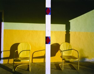 Alex Harris Photograph, Yellow-Chairs-copy