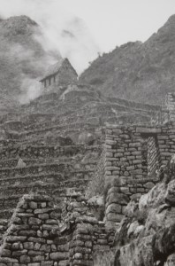 CHRIS WEBSTER, MACHU PICCHU, INCA TEMPLE