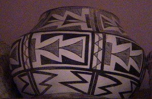 Ceramic Polychrome Jar, Acoma Pueblo, New Mexico, ca. 1940 A.D. 017