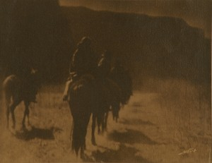 EDWARD S. CURTIS, PHOTOGRAPH, VANISHING RACE