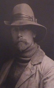 EDWARD S. CURTIS, PHOTOGRAVURE, SELF PORTRAIT