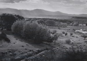 LAURA GILPIN, LAS BARRANCAS BOOK OF PHOTOGRAPHS - BLACK MESA, 1952