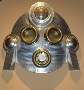 METAL MASK, TONY PRICE, ATOMIC ART