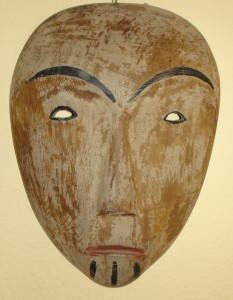 Wooden Mask, Eskimo, ca. 1880-1900