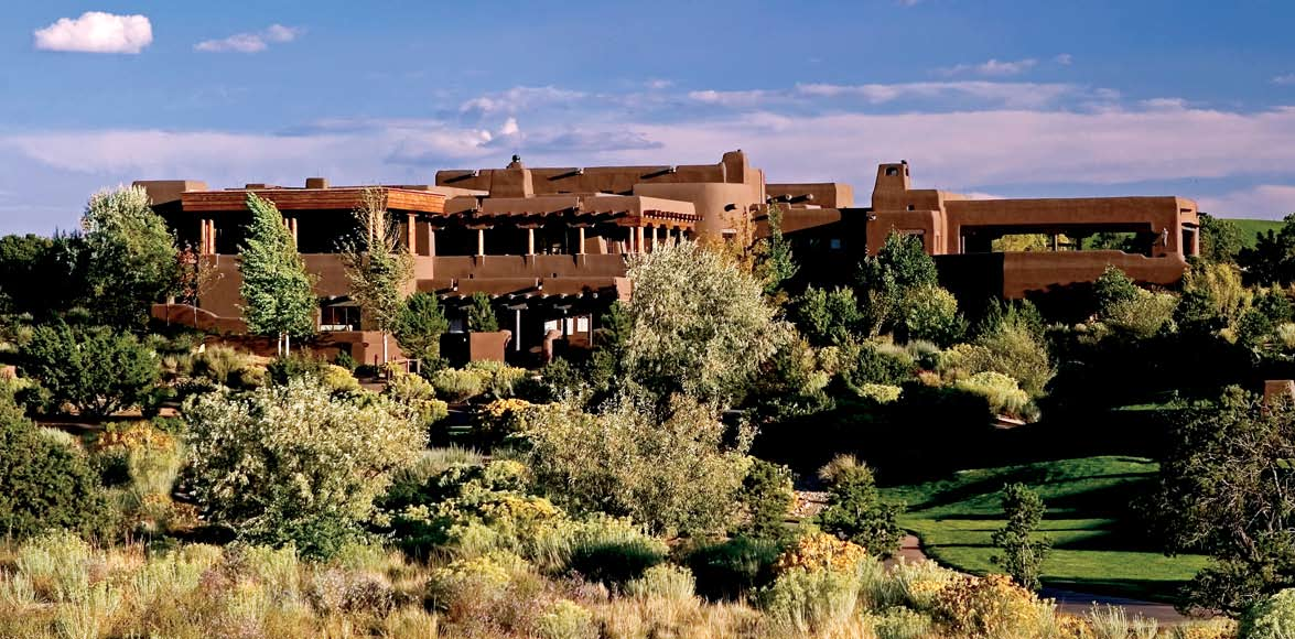Las Campanas - The Hacienda Clubhouse