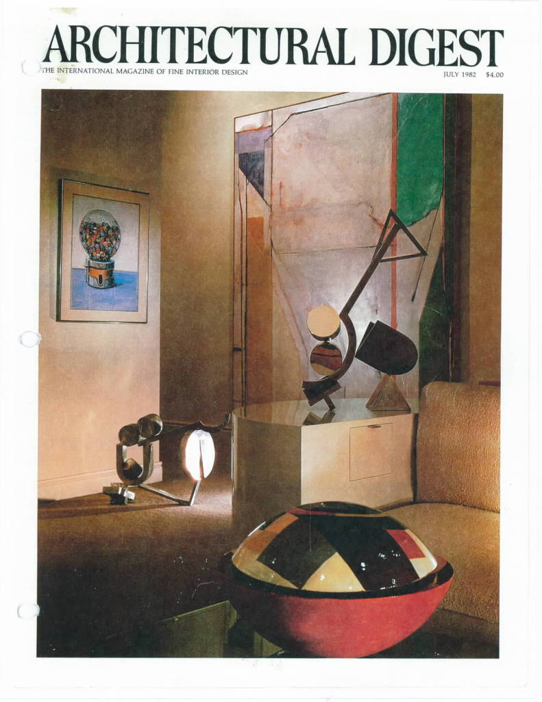 ARCHITECTURAL DIGEST ARTICLE, 7-82_Page_1