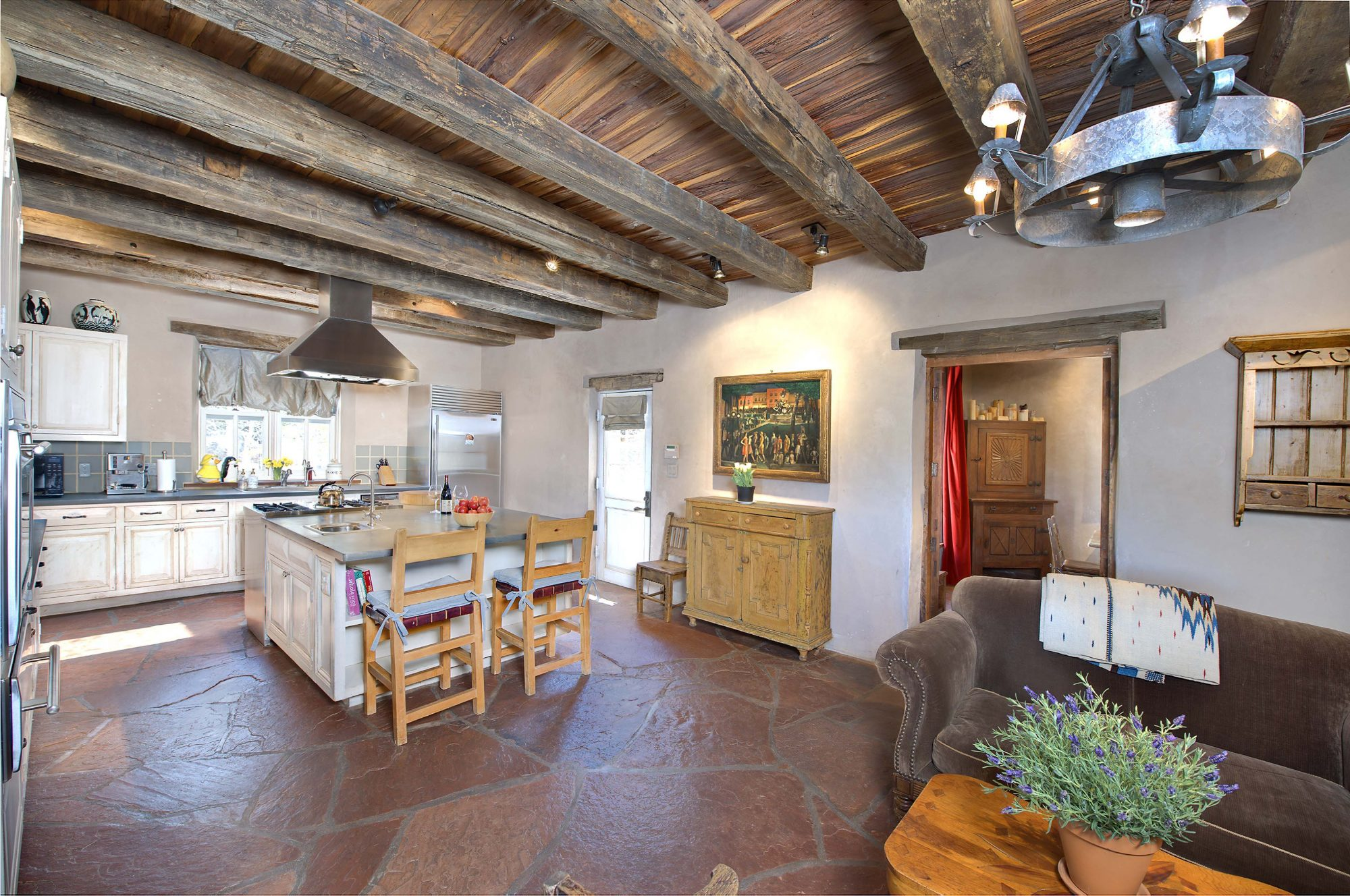 Camino Militar Classic Adobe Home And Guest House On The - Adobe home design