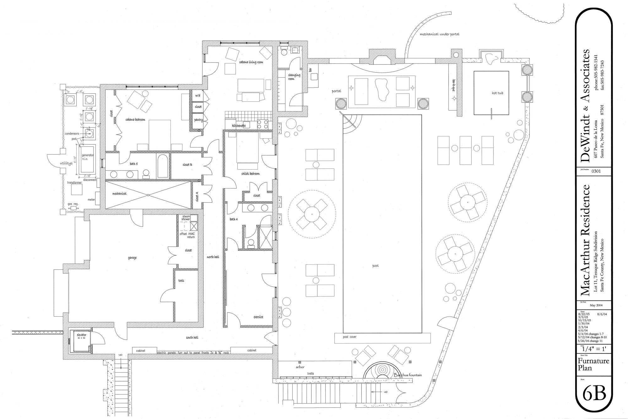 MACARTHUR - FLOOR PLAN, LOWER LEVEL copy