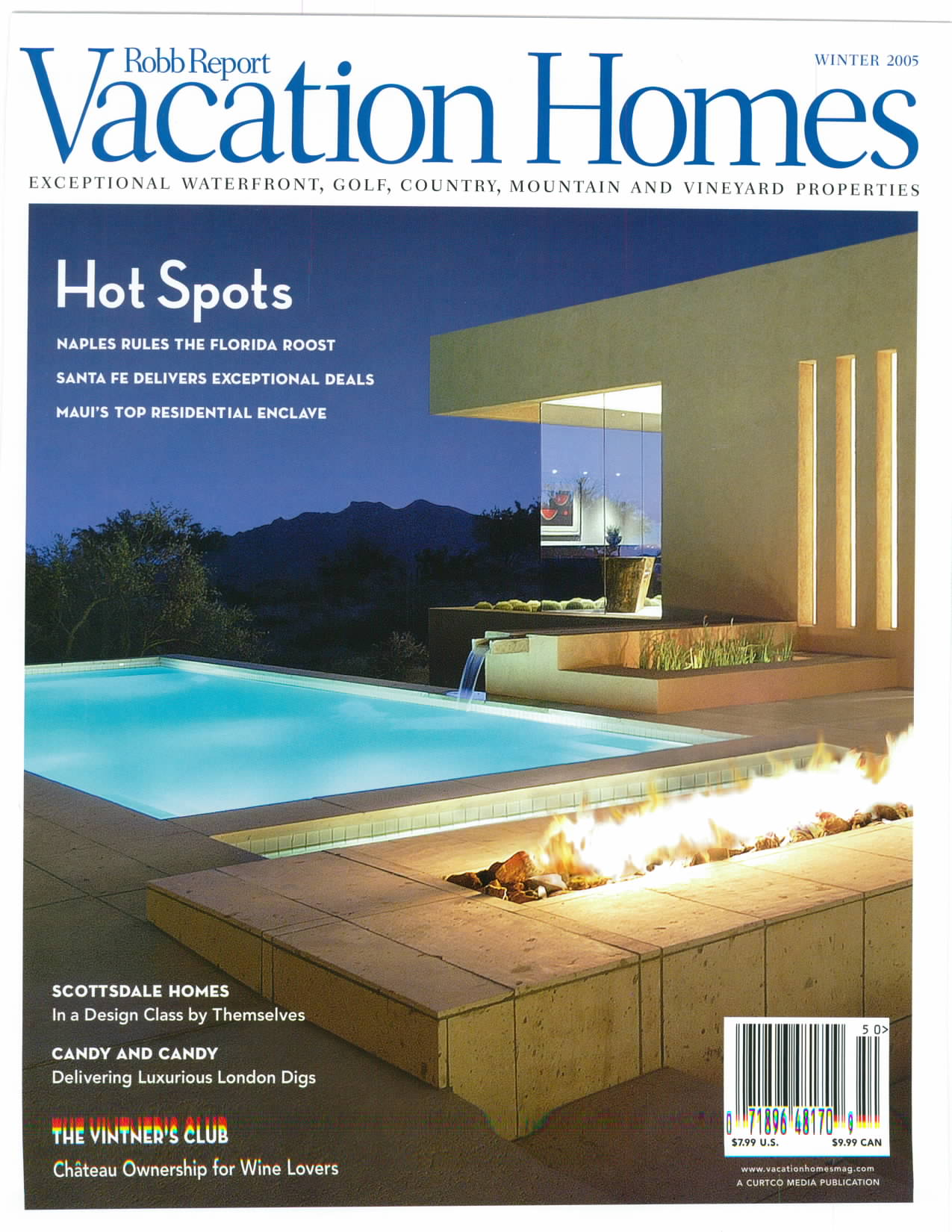 ROBB REPORT VACATION HOMES, WINTER 2005_Page_1