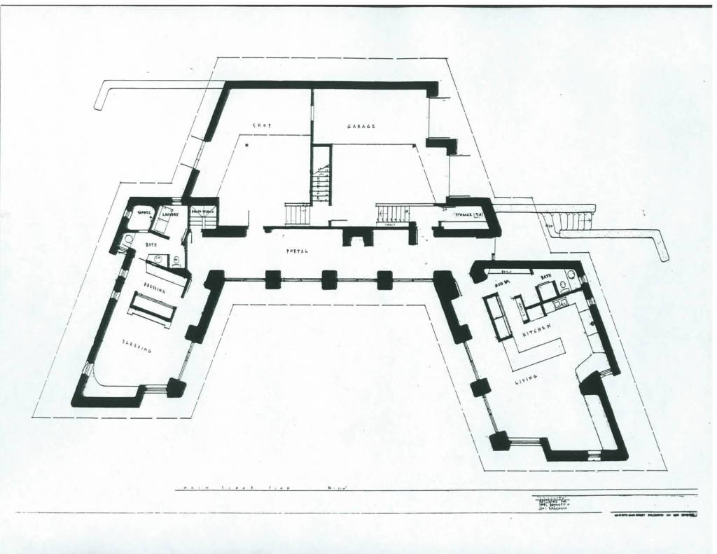 BENNETT TRUST - VALLECITO, FLOOR PLAN