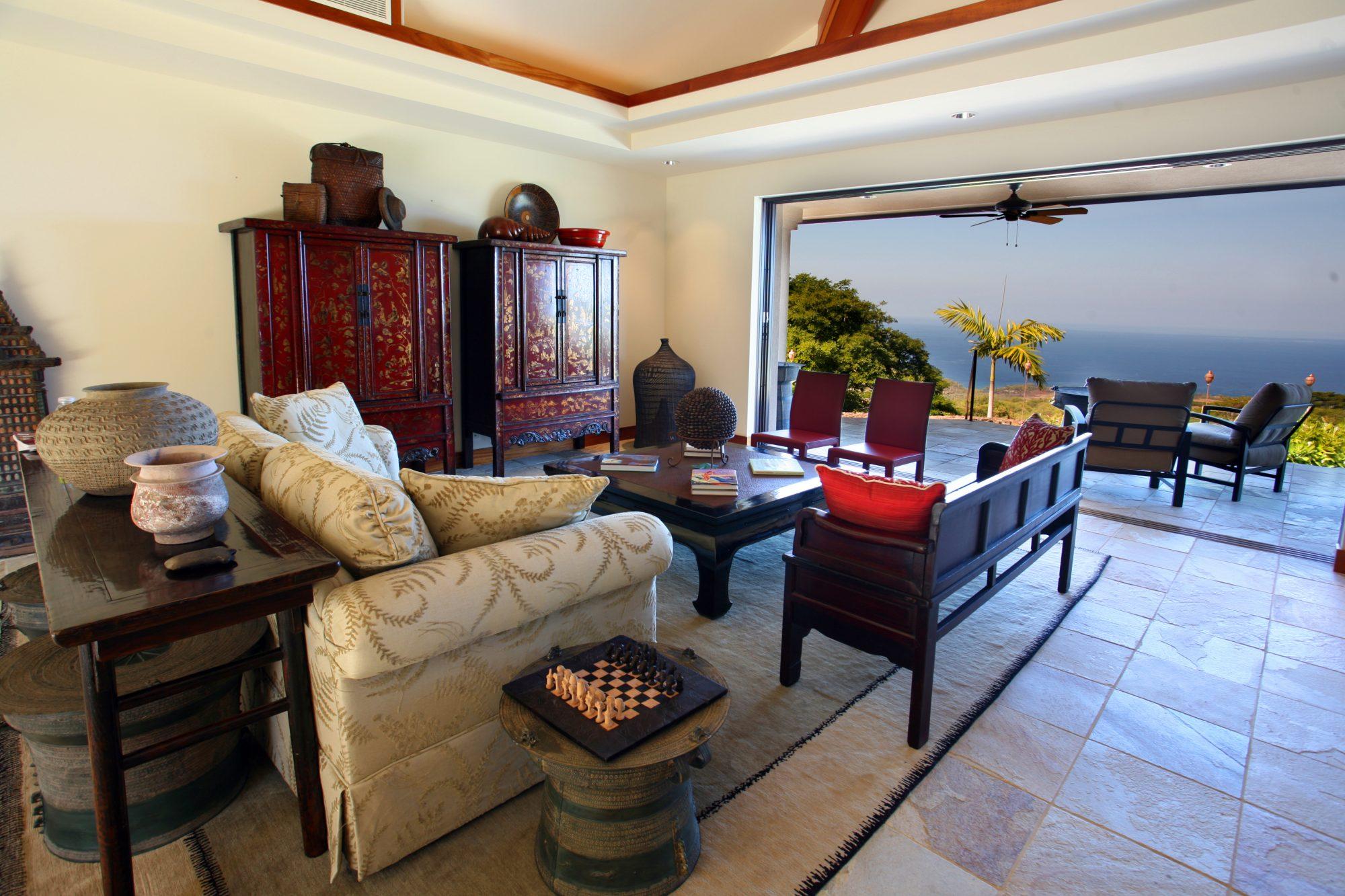 *The Auamo Compound, Living Room 1