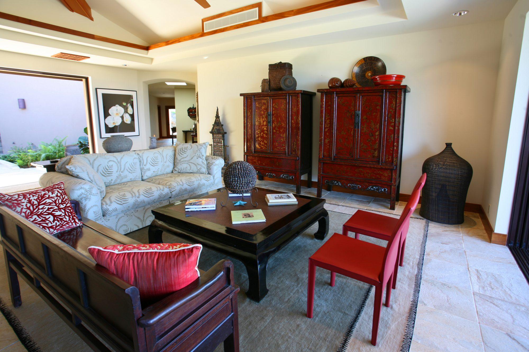 *The Auamo Compound, Living Room 2