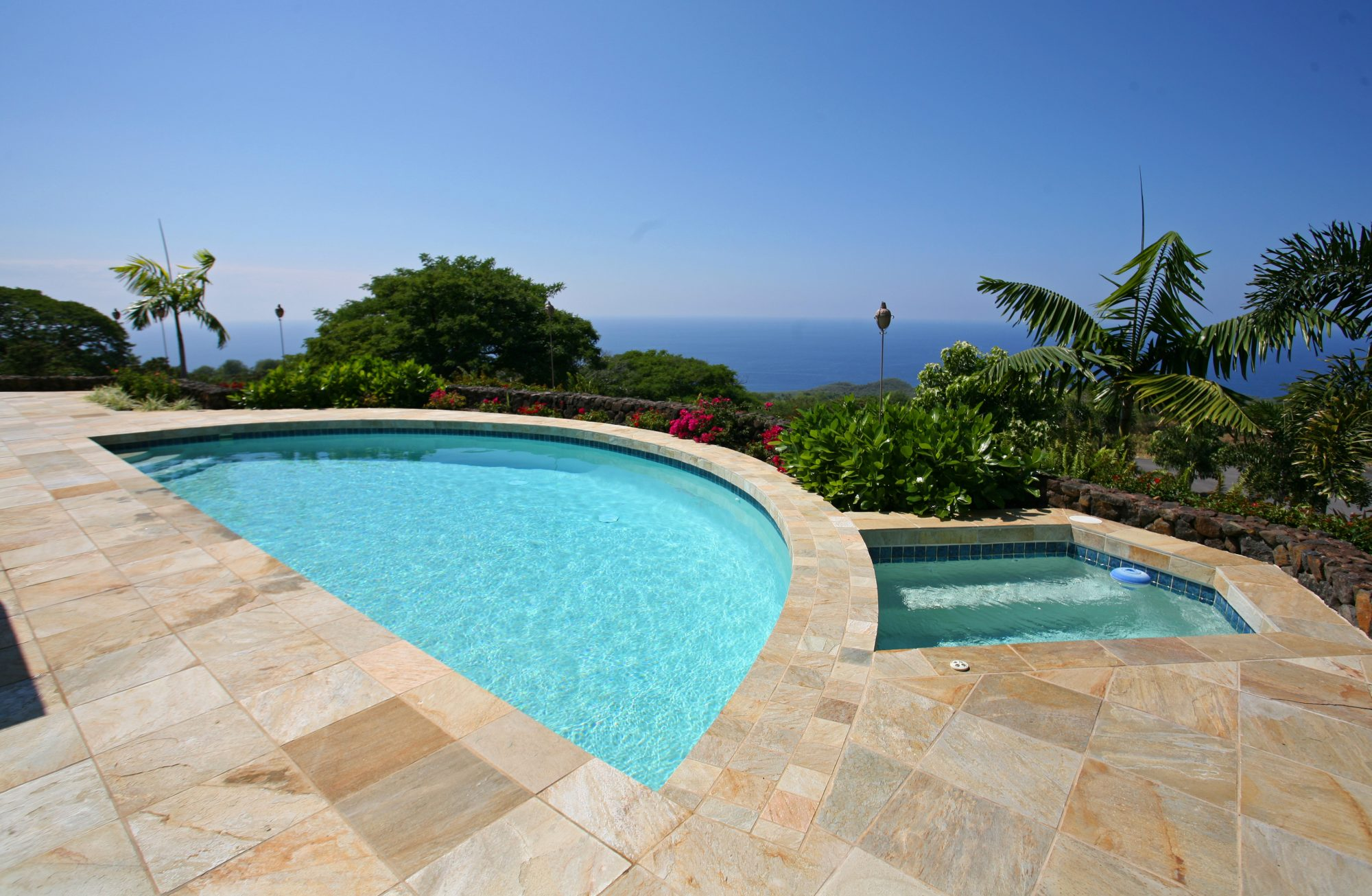 The Auamo Compound, Pool and View